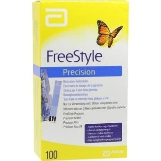 Freestyle Precision Blutzucker-Teststr. O.Codieren - (100 St) - PZN 06905357