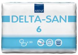 Delta San No 6 Vorlage - (4X30 St) - PZN 05949134