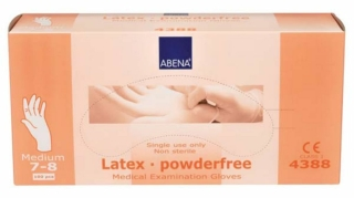 Latex-Handschuhe Medium Ungepudert 4388 - (10X100 St) - PZN 00623818