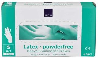 Latex-Handschuhe Small Ungepudert 4387 - (100 St) - PZN 00623787