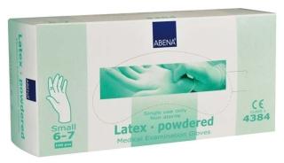 Latex-Handschuhe Small 4384 - (100 St) - PZN 07609997