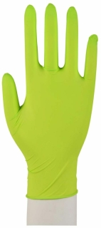 Nitril-Handschuhe Sensitive Puderfrei Hellgrün S - (100 St) - PZN 11307138