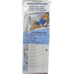 Dusch Folien Bein Kurz 90Cm - (5 St) - PZN 07274580