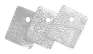 Tracheal-Kompressen Mit Metalline Geschlitzt - (10 St) - PZN 01879804