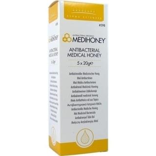 Medihoney Antibakterieller Medizinischer Honig - (5X20 g) - PZN 05017086