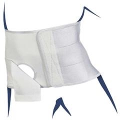 Stomacare Bandage Hoehe 22.5 Cm Li L - (1 St) - PZN 03414759