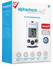 Alphacheck Professional Bzmg Mmol/L Kombipackung - (1 St)...