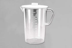 Urinsammelglas Kunststoff 2000Ml Mit Deckel - (1 St) -...