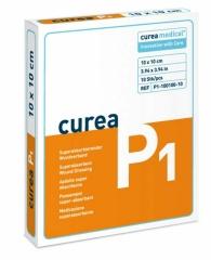 Curea P1 10X10Cm Superabsorbierender Wundverband - (10...