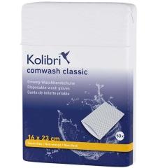 Kolibri Comwash Classic Waschhandschuh 16X23Cm - (50 St)...
