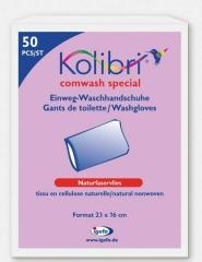 Kolibri Comwash Special Waschhandsch Weiss 16X24Cm -...