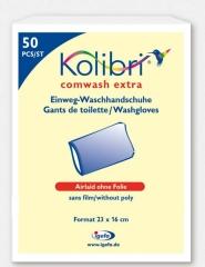 Kolibri Comwash Extra Waschhandschuh Unfolie16X24 -...
