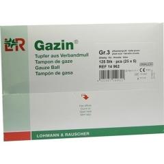 Gazin Schlinggazetupfer Pflaume2+3 Steril M.Schutz - (125...