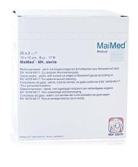 Mullkompressen 10X10 8-Fach Steril - (25X2 St) - PZN...