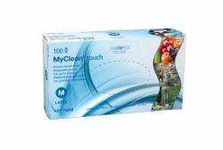 Myclean Touch Gr. M Latexhandschuh Pf - (100 St) - PZN...