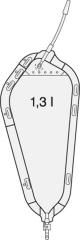 Rollibtl 1.3L F Dk Schlauch-12Cm Schwenkhahn - (10 St) -...