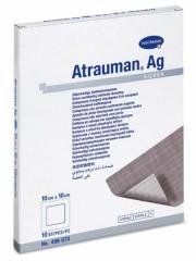 Atrauman Ag Steril 10X10Cm - (10 St) - PZN 02813807