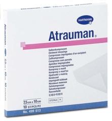Atrauman Steril 7.5X10Cm - (10 St) - PZN 03829302