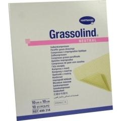 Grassolind Salbenkompressen Steril 10X10Cm - (10 St) -...