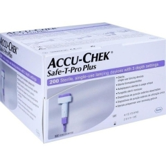 Accu-Chek Safe-T-Pro Plus - (200 St) - PZN 01754184