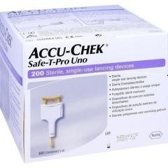 Accu-Chek Safe-T-Pro Uno Ii - (200 St) - PZN 06143663