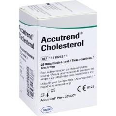 Accutrend Cholesterol - (25 St) - PZN 04653182