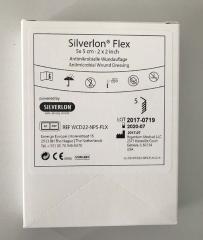 Silverlon Flex 5X5 Cm - (5 St) - PZN 11192741