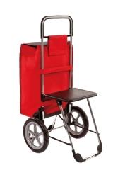 Einkaufshilfe Mit Sitz Rot - (1 St) - PZN 08035021