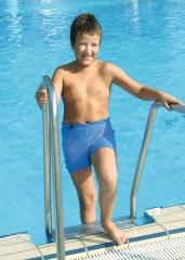 Suprima Schwimmshorts Für Kinder Blau Gr.152 - (1...